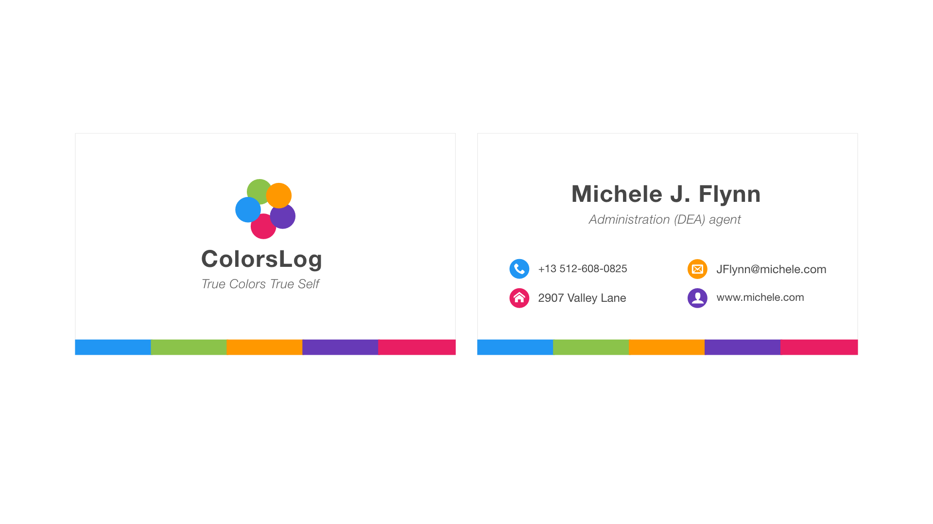 Business Card (Icons / Logo / Brand)